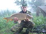 Результаты сегоднешней рыбалки Карп 4,780 кг